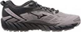 Mizuno Wave Ibuki 2, Zapatillas de Running para Asfalto para Mujer, Gris (Cloudburst/Pscope/10135 C 36), 37 EU
