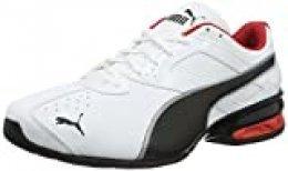 PUMA Tazon 6 FM, Zapatillas para Correr de Carretera para Hombre, Blanco White Black Silver, 40 EU