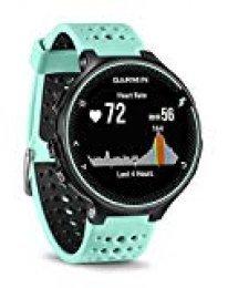 Garmin Forerunner 235 - Reloj con pulsómetro en la muñeca, Unisex, Color eléctrico Negro y Azul Hielo, Talla única (Reacondicionado)