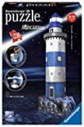 Ravensburger - 3D Puzzle Building Faro Night (12577 7)