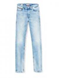 Tommy Jeans Hombre Simon Skinny Crtlt Straight Jeans, Azul (Court Light Blue Str Aj), W32/L36