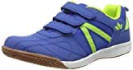 Lico First Indoor V, Zapatillas de Deporte Interior para Hombre, Azul (Blau/Lemon Blau/Lemon), 41 EU
