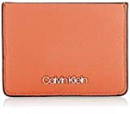 Calvin Klein - Ck Must Cardholder, Carteras Mujer, Marrón (Cuoio), 1x1x1 cm (W x H L)