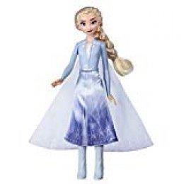 Disney-E7000ES0 Luci del Nord Frozen 2 Elsa Aventura Mágica, Multicolor (Hasbro E7000ES0)