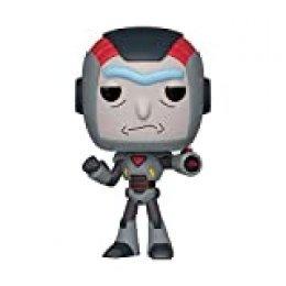 Funko- Pop Figura de Vinilo: Animación: Rick & Morty S6-Rick in Mech Suit Coleccionable, Multicolor, Estándar (40248)