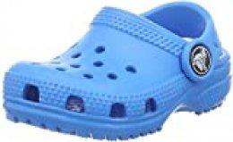 Crocs Classic Clog Kids, Obstrucción Unisex Adulto, Azul (Ocean), 36/37 EU