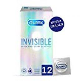 Durex Preservativos Invisibles Extra Sensitivos - 12 condones