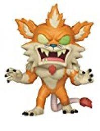 Funko- Pop Figura de Vinilo: Animación: Rick & Morty S6-Squanchy (Squanched out) Coleccionable, Multicolor, Estándar (40251)