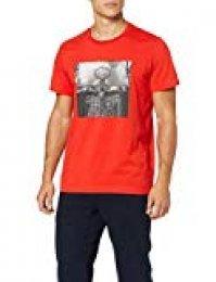 adidas Skull Ball T-Shirt de Baloncesto, Hombre