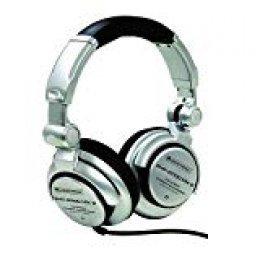 """Omnitronic SHP-2000 MK2 - Auriculares (Circumaural, Diadema, 200 mW, Alámbrico, 3.5 mm (1/8""""), 2.5 m) Plata"""