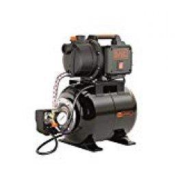 Black+Decker BXGP600PBE Bomba Autoaspirante con Caldera (19 litros) para Aguas Limpias (600 W, Caudal max. 3.100 l/h, Prevalencia max. 35 m)