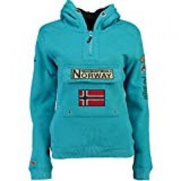 Geographical Norway Sudadera Mujer GYMCLASS B Azul Cielo L