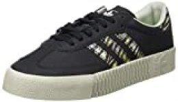 Adidas Sambarose, Zapatillas Clasicas para Mujer, Negro (Core Black/Core Black/Metal Grey), 36 EU