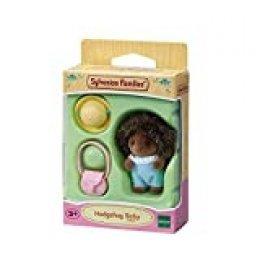 SYLVANIAN FAMILIES-El bebé Erizo Mini muñecas, 5410, Multicolor