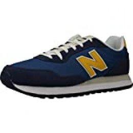 New Balance de los Hombres Zapatillas 527 Suede, Azul, 40.5 EU