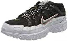 Nike W P-6000 SE, Zapatillas para Correr para Mujer, Black Multi Color White Coral Stardust, 38 EU
