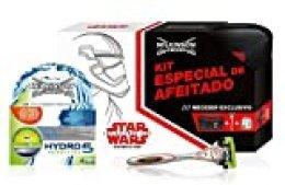 Wilkinson Sword Hydro 5 Star Wars - Kit Especial de Afeitado con Máquina Hydro 5 + 4 Recambios de Cuchillas + Neceser Exclusivo de la película