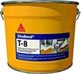 SikaBond T8, Adhesivo elástico e impermeable para pegado de baldosas, 5L, Beige