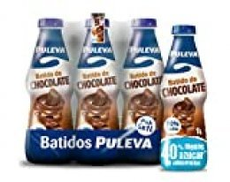 Puleva Batido de Chocolate - Pack de 6 x 1 L - Total: 6 L
