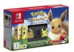Nintendo Switch Pokémon: Consola + Let's Go Eevee (Preinstalado) + Poké Ball Plus (Edición limitada)