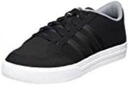 Adidas VS Set, Zapatillas de Tenis para Hombre, Multicolor (Negbás/Negbás/Gris 000), 44 EU
