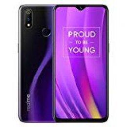 """realme 3 Pro Smartphone Móvil, 6.3"""" Snapdragon 710 AIE del teléfono móvil 4045mAh batería de la batería del teléfono móvil Carga rápida VOOC, Versión Europea, Azul (6GB+128GB/Púrpura)"""