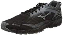 Mizuno Wave Ibuki 2 GTX, Zapatillas de Running para Asfalto para Hombre, Negro (Black/Qshade/Shadow 34), 39 EU