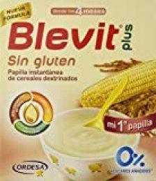 Blevit Plus, Cereales para bebé , sin gluten- 600 gr.