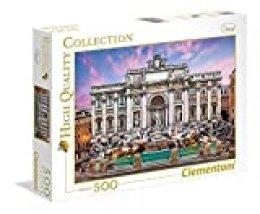 Clementoni 35047–Puzzle fuente de Trevi , color/modelo surtido