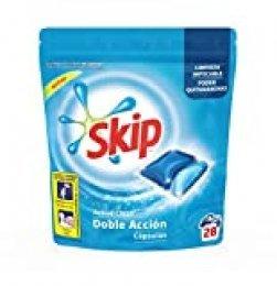 Skip Active Clean Detergente Cápsulas para Lavadora - 28 lavados