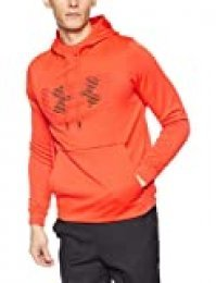 Under Armour Spectrum Po - Sudadera con capucha para hombre, Rojo (Radio Red/Black), L