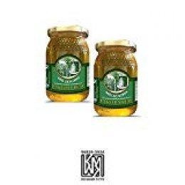 La Celda Real - 1kg - Miel Pack 2 tarros: Miel Mil Flores - Tarro de cristal - Aroma Floral y Sabor Rico y Dulce - 100% Natural