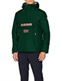 Napapijri Rainforest Pocket Chaqueta, Verde (Hunter Green 2 GD8), L para Hombre