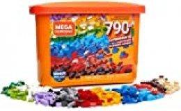 Mega Construx Caja de 790 piezas y bloques de construcción para niños +3 años (Mattel GJD24) , color/modelo surtido