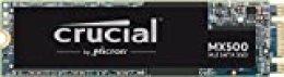 Crucial MX500 500GB CT500MX500SSD4 Unidad interna de estado sólido-hasta 560 MB/s (M.2 2280SS, 3D NAND, SATA)