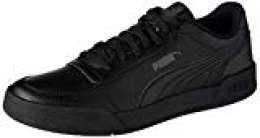 PUMA Caracal, Zapatillas Unisex Adulto, Black-Dark Shadow, 40.5 EU