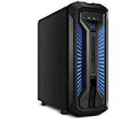 MEDION X30 PCC968 - Ordenador de sobremesa ( Intel Core i7-9700, 8GB RAM, 1TB HDD + 128GB SSD, Nvidia GeForce GTX 1660Ti-6GB, Windows 10) color negro