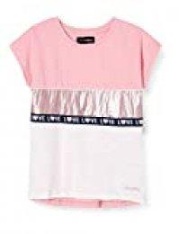 Desigual TS_Gracia Camiseta, Rosa (Rosa Helado 3021), 104 (Talla del Fabricante: 3/4) para Niñas