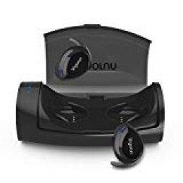 Auriculares Bluetooth Inalámbricos Vigorun In-Ear Mini Auriculares Stéreo con Caja de Carga y Micrófono Incorporado,CVC 6.0 Cancelación de Ruido,IPX6 Impermeablecon, para iOS y Android