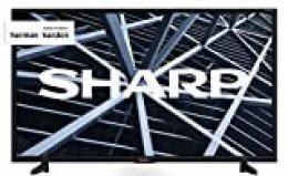 """Sharp 32BB5E - TV de 32"""" (resolución 1368 x 720, 3 x HDMI, 2 x USB), color negro"""