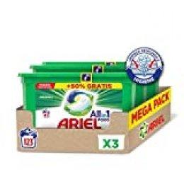Ariel Allin1 Pods Original - Detergente en cápsulas para la lavadora, 123 lavados (3 x 41)