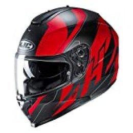 Helmet HJC C70 BOLTAS BLACK/RED S