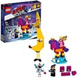 LEGO La LEGO Película 2 - Se presenta la Reina Soyloque Quiera con un juguete creativo de construcción con las aventuras de Watevra Wa'Nabi (70824)
