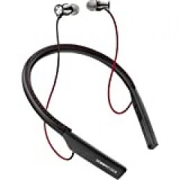 Sennheiser Momentum - Auriculares In-Ear inalámbricos (Bluetooth 4.1, NFC, USB, Qualcomm apt-X) Color Negro y Rojo
