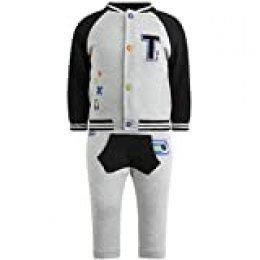 Tuc Tuc 50221 Conjunto de Ropa, Gris (Gris 9), 62 (Tamaño del Fabricante:3M) para Bebés