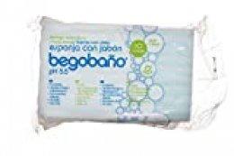Begobaño Esponja Jabonosa De Un Solo Uso con Gel dermatológico E Hipoalergénico. 10 Esponjas En Un Paquete.