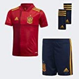 adidas Fef H Mini Equipamento de Fútbol, Unisex niños, Victory Red, 3-4Y