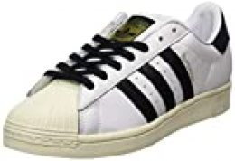 adidas Superstar, Zapatillas de Gimnasio para Hombre, FTWR White/Core Black/FTWR White, 43 1/3 EU