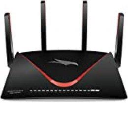 Netgear Nighthawk Pro Gaming XR700 Router WiFi para Juegos con Velocidad AD7200 de Doble Banda, Negro