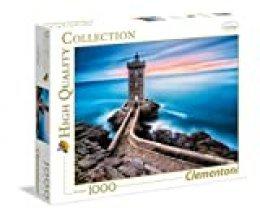 Clementoni-39334 Los Pingüinos De Madagascar Puzzle 1000 Piezas El Faro (39334.3)